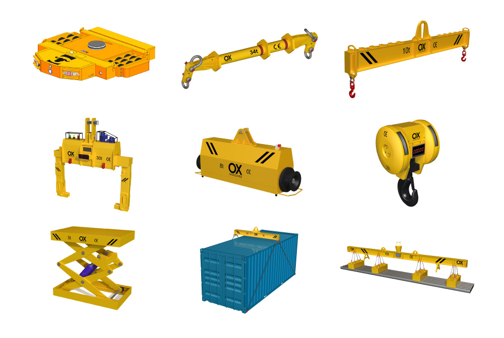 Rental Services Ox Worldwide Heavy lifting equipment