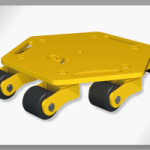 NEW OX-CG6 ROTATING TROLLEY
