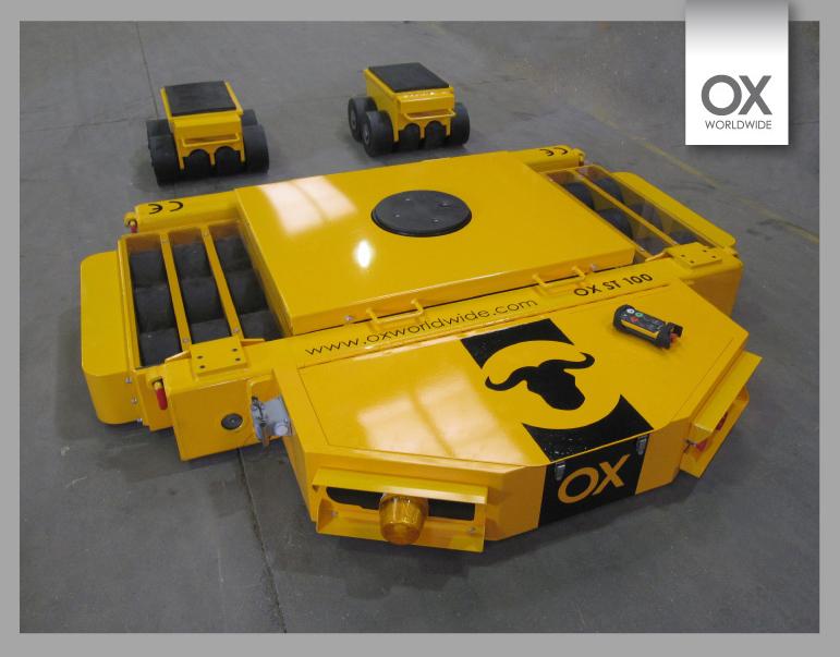 Tanqueta autopropulsada OX-ST-100