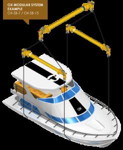 balancin de carga o Spreader beam