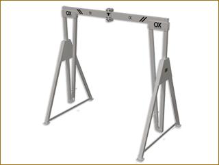 Porticos de aluminio OX Worldwide