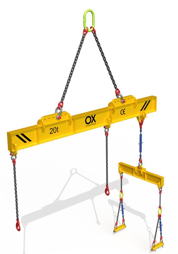lifting beam Ox Worldwide