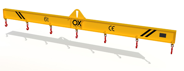 lifting beam Ox Worldwide standard beam