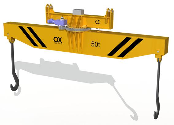 Balancín de carga giratorio Ox Worldwide