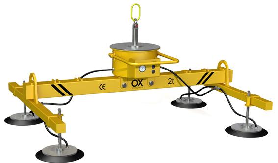 Elevador de ventosas Ox worldwide 3