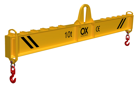Adjustable lifting beams Ox Worldwide