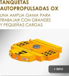 Productos Ox Worldwide Tanquetas autopropulsadas