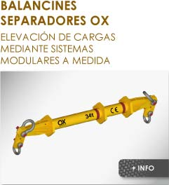 Productos Ox Worldwide balancin de carga