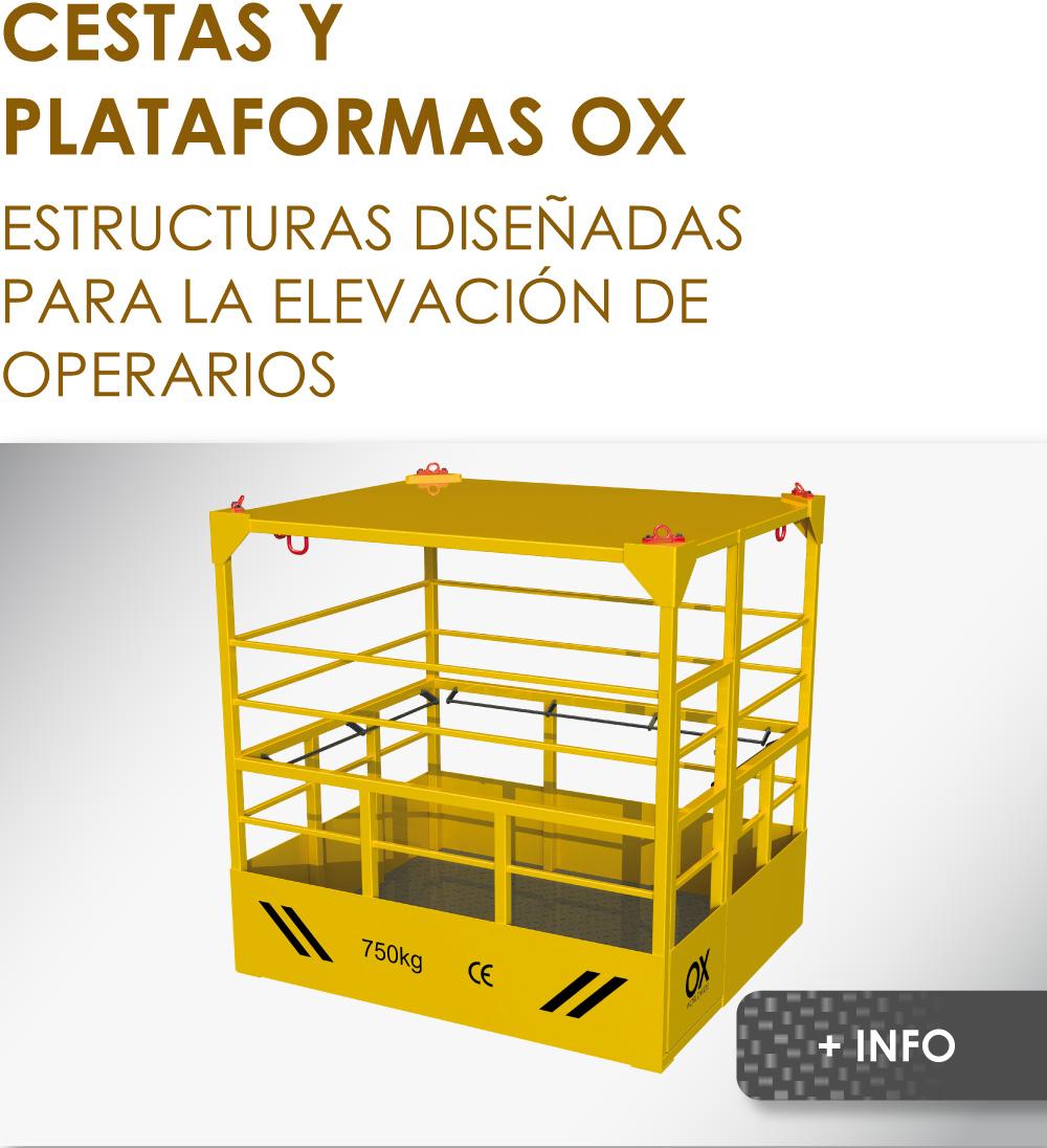 cesta de elevación Ox Worldwide 1