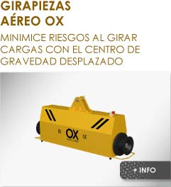 Girapiezas volteador Ox Worldwide
