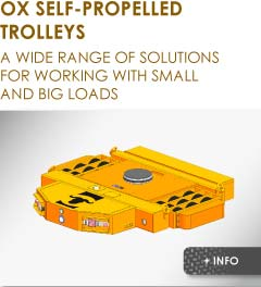 self propelled trolley Ox Worldwide