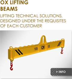 lifting beam Ox Worldwide
