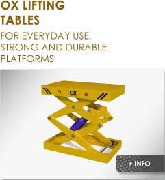 lift table Ox Worldwide image