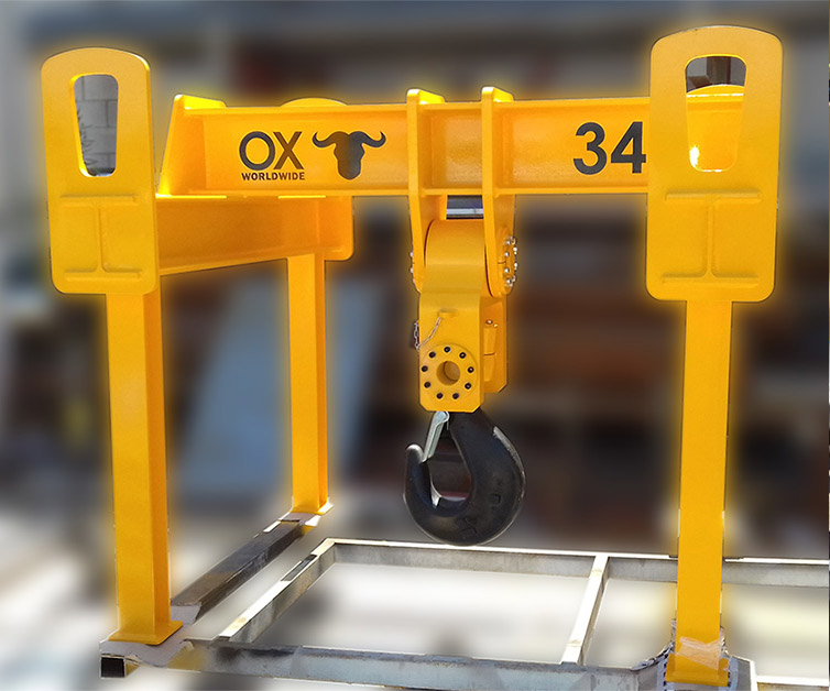 balancin de carga UTE Ox Worldwide