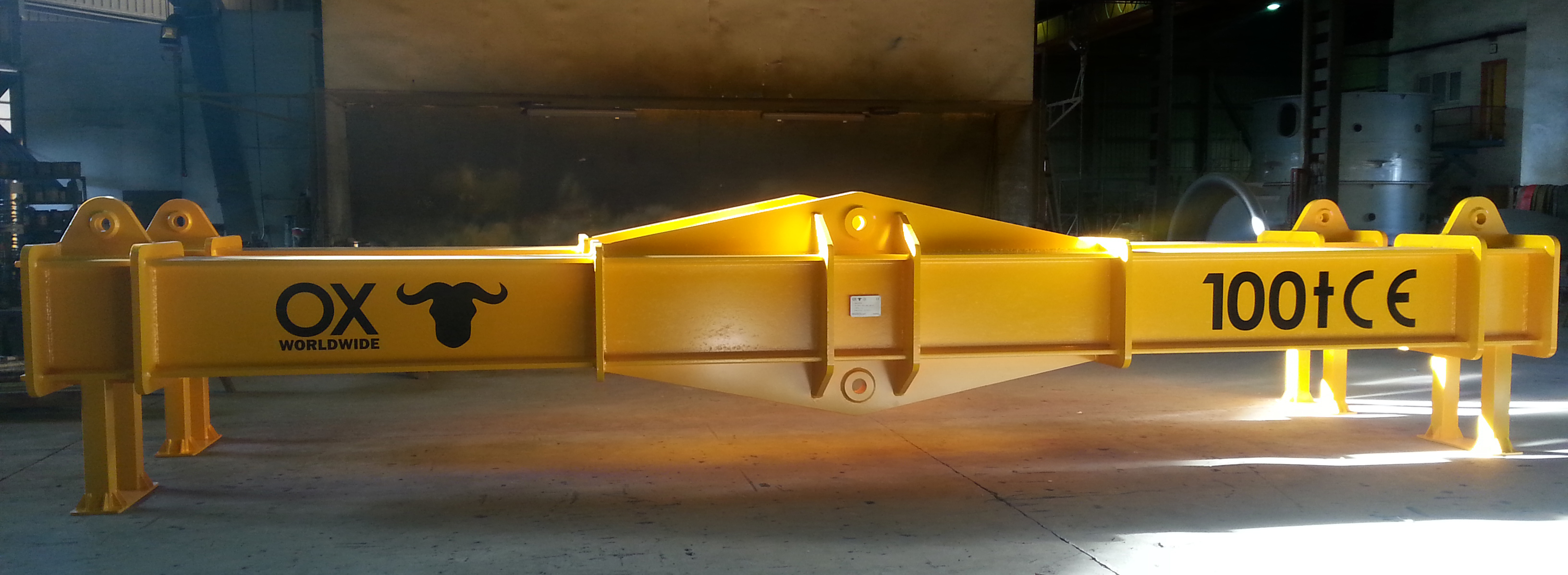 SPREADER BEAM FOR HEAVY LOADS Ox Worldwide