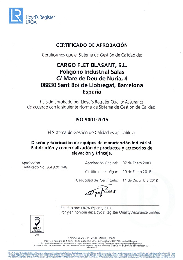 Certificados ISO Ox Worldwide
