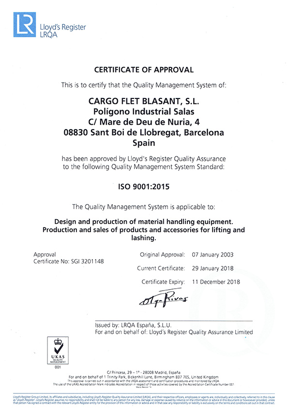 Certificados ISO Ox Worldwide ENG