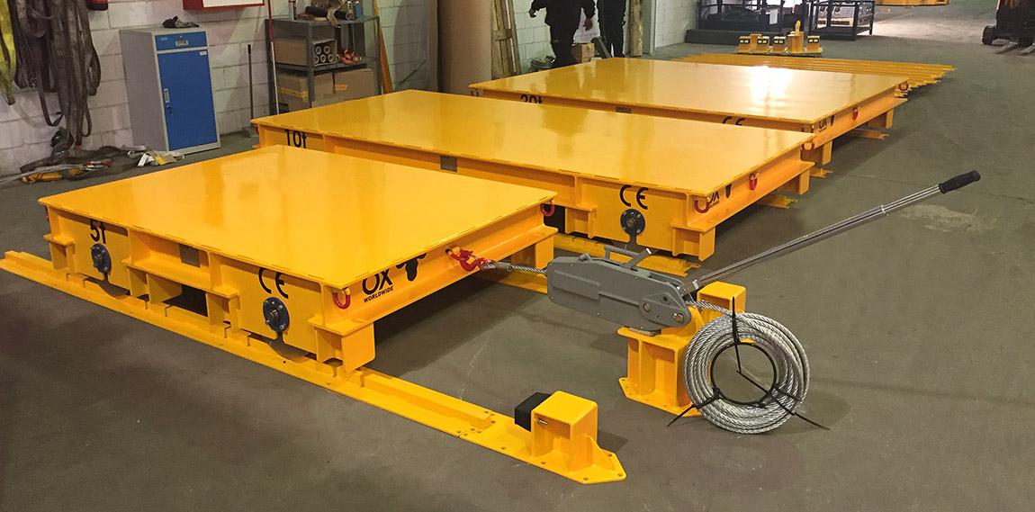 load trolleys Ox Worldwide 2