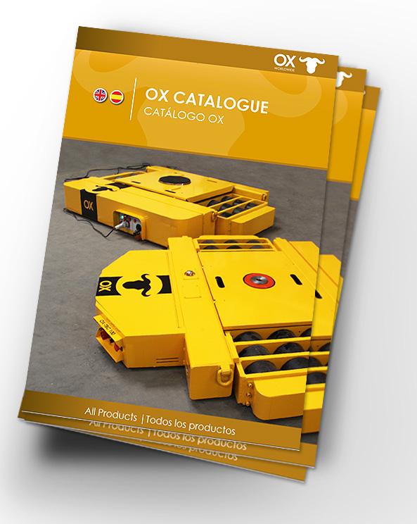 Elevacion de cargas Ox Worldwide Catalogo