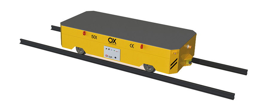 carros motorizados industriales Ox Worldwide