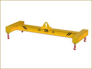 lifting beams Ox Worldwide Balancin elevador