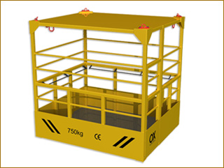 basket lift Ox Worldwide plataforma elevadora