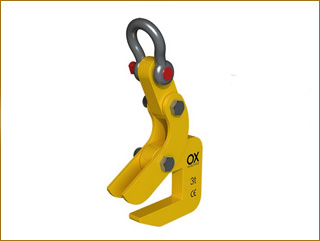 lifting clamps Ox Worldwide