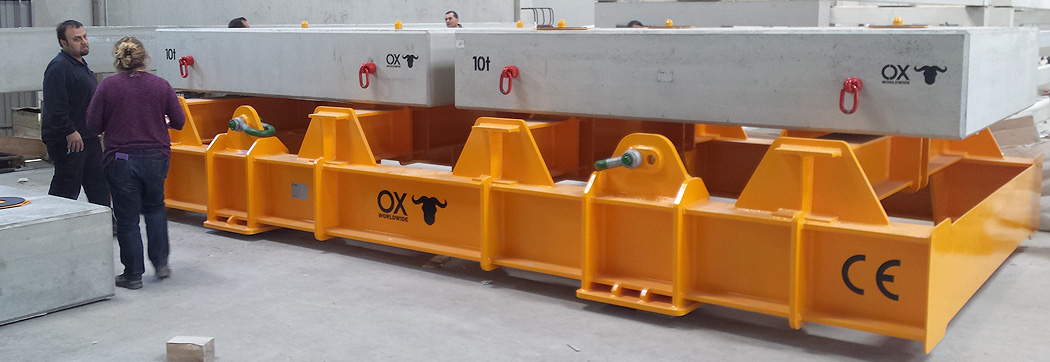 Lifting of loads other products Ox Worldwide slider 1
