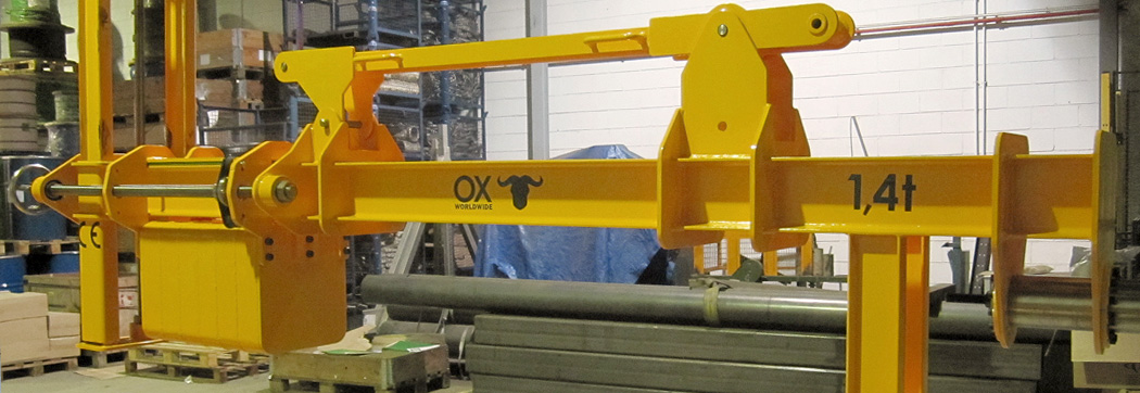 Lifting of loads other products Ox Worldwide slider 3