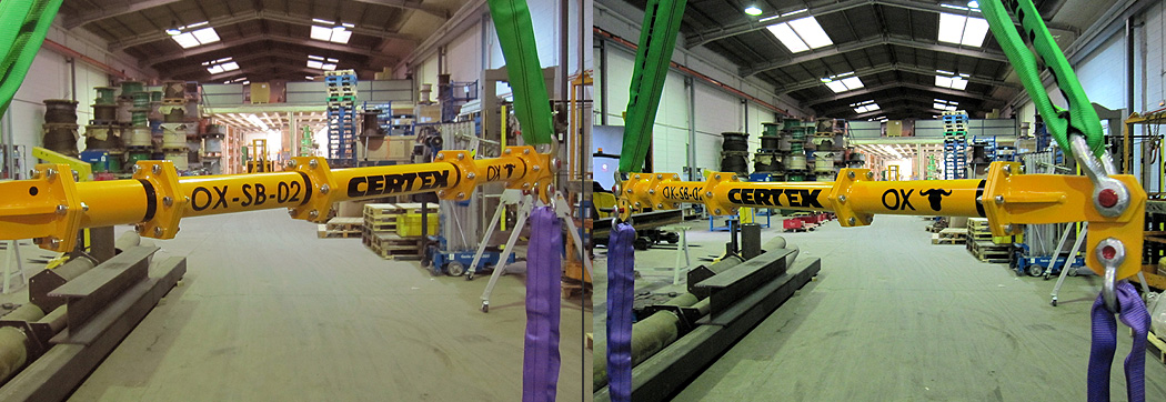 Balancin de carga OX Worldwide slider 2