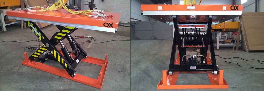 Lift table Ox Worldwide slider 1