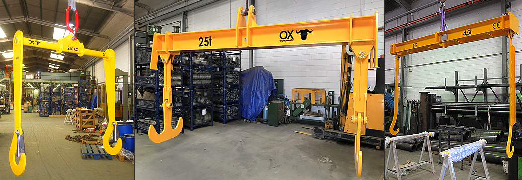 Lifting beam Ox Worldwide slider 11