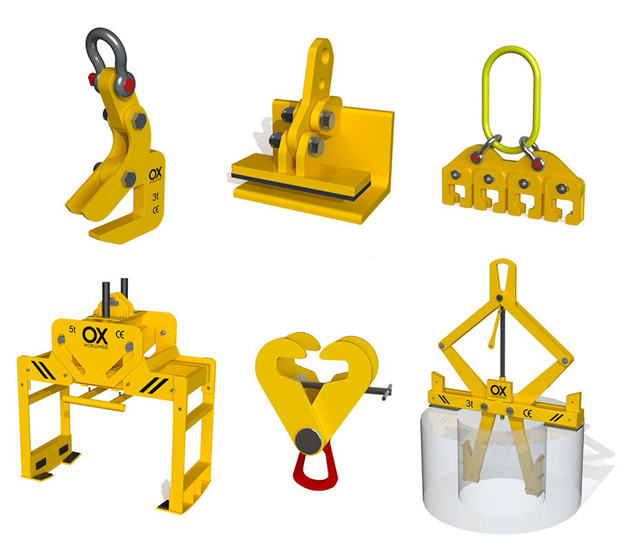 Lifting of loads other products Ox Worldwide