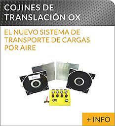 Equipos de elevacion y transporte de cargas Ox Worldwide cojines de elevacion