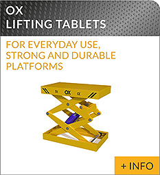 heavy lifting equipment Ox Worldwide lift table