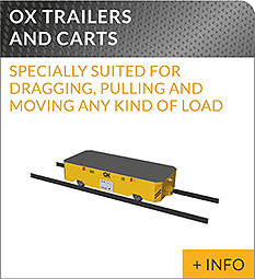 heavy lifting equipment Ox Worldwide transfer car
