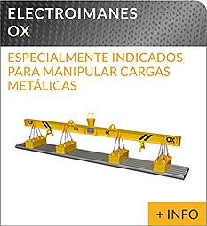 Equipos de elevacion y transporte de cargas Ox Worldwide Elevador electromagnetico