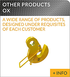 heavy lifting equipment Ox Worldwide Lifting of loads other products