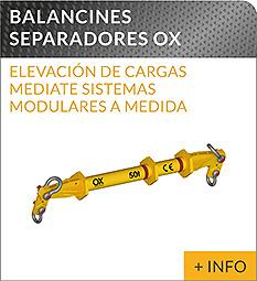 Equipos de elevacion y transporte de cargas Ox Worldwide balancin de carga