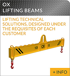 heavy lifting equipment Ox Worldwide lifting beam