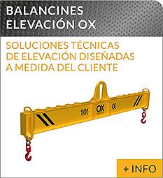 Equipos de elevacion y transporte de cargas Ox Worldwide balancin de elevación