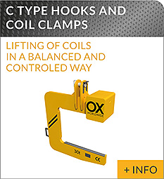 heavy lifting equipment Ox Worldwide C Hook