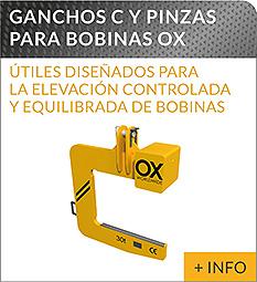 Equipos de elevacion y transporte de cargas Ox Worldwide gancho C