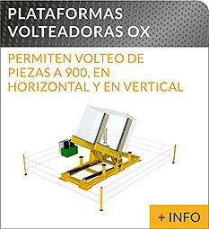 Equipos de elevacion y transporte de cargas Ox Worldwide volteador