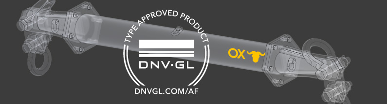 DNV certificate for Ox Worldwide Cover