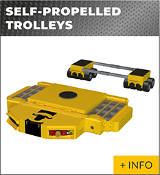 heavy lifting equipment Ox Worldwide self propelled trolleys 1