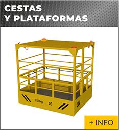 Equipos de elevacion y transporte de cargas Ox Worldwide cesta de elevaciòn 1