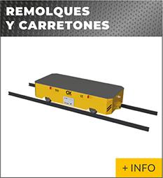 Equipos de elevacion y transporte de cargas Ox Worldwide carros motorizados industriales 1