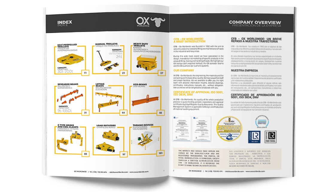 Heavy lifting equipment catalog 2