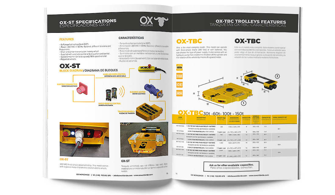 Heavy lifting equipment catalog 4